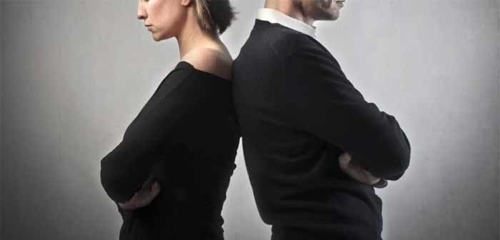 La separazione dalla parte del marito